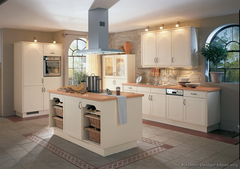 Pictures of off white kitchen cabinets off white kitchen for Images of off white kitchen cabinets